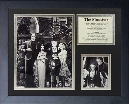 """Legenden Sterben Nie """"Munsters"""" gerahmtes Foto Collage, 11 x 35,6 cm von Legends Never Die"""