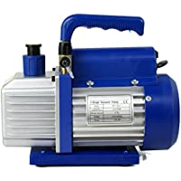 Smartxchoices 1/4 HP Single Stage Rotary Vane Vacuum Pump 3.5 CFM Air Conditioner Refrigeration HVAC Air AC A/C R410a (110V)