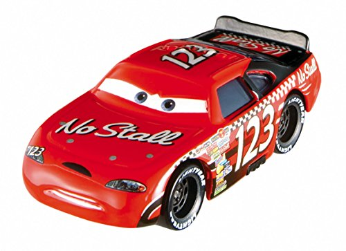 Disney World of Cars, Piston Cup Die-Cast Vehicle, No Stall No. 123 #14/16, 1:55 Scale Eagle 123