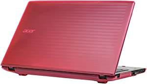 "mCover Hard Shell Case for 15.6"" Acer Aspire E 15 E5-575 / E5-576 Series Windows Laptop (Pink)"