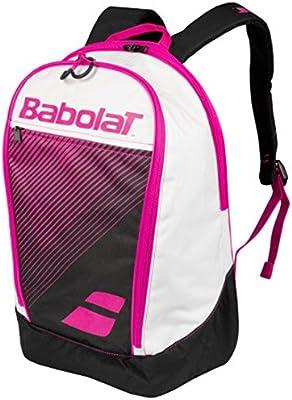 Babolat MOCHILA CLASSIC CLUB NEGRO ROSA MUJER: Amazon.es: Deportes ...