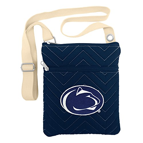 NCAA Penn State Nittany Lions Chev-Stitch Cross Body Purse