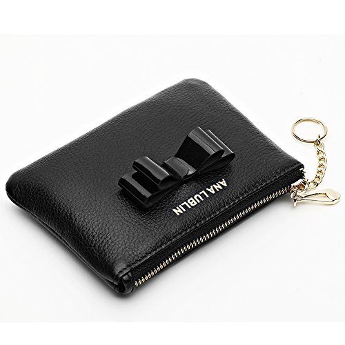 ANA LUBLIN leather Wallet Small Coin Purse Women RFID Blocking Mini Money Pocket by ANA LUBLIN (Image #2)