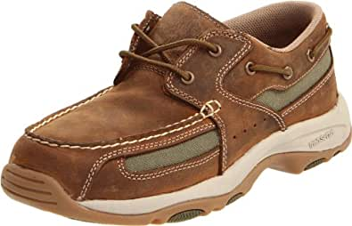 Irish Setter Men's 3819 Lakeside Slip-On Boat Shoe,Distressed Brown,8 D US