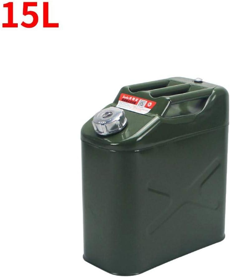 Ersatz-Benzinbeh/älter verdickter Kraftstoffbeh/älter 5 l a Metall Kraftstoffbeh/älter 5//10//15//20 Liter Wasserkanister Campingkanister Kraftstofftank AUTOECHO Kraftstoffkanister Kunststoff