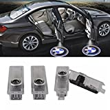 #8: Car Door LED Light Logo HD Projector Ghost Shadow Low Consumption Shadow Lights for BMW Series (4 Pack)