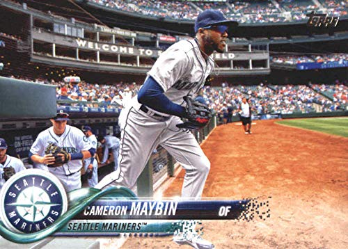 2018 Topps Update and Highlights Baseball Series #US256 Cameron Maybin Seattle Mariners Official MLB Trading Card