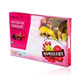 choco pie green tea - Jeju Cactus Chocolate 288g 32ea, Korea Jeju Special Product, Best Snack, Best Gift