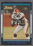 2001 Topps Anthony Henry Browns Rookie Football Card #137