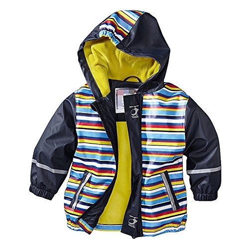 Magictolife Baby Boys Animal Print Long Sleeve Fleece Jacket Zipper Hooded Windbreaker Jacket Tiao 104