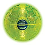 Tangle NightBall Glow in the Dark Light Up LED Basketball, Green