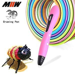 amazon com 3d pen miiw filament 1 75mm pcl filament
