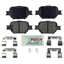 Bosch BE817H Blue Disc Brake Pad Set with Hardware for 2005-10 Scion tC and 2000-05 Toyota Celica - FRONT