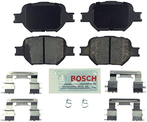 Bosch BE817H Blue Disc Brake Pad Set with Hardware ()