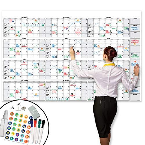 Large Dry Erase Wall Calendar - 38