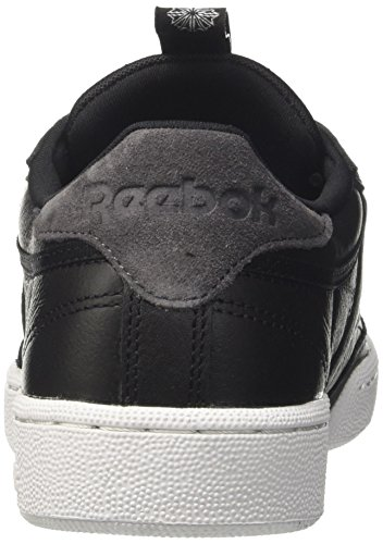 Black Shoes C Club 85 White IT Reebok Size Charcoal 40 gXPq1q