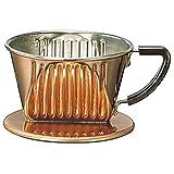 101-CU 1~2 Person Copper Coffee dripper Kalita by Kalita (Carita)