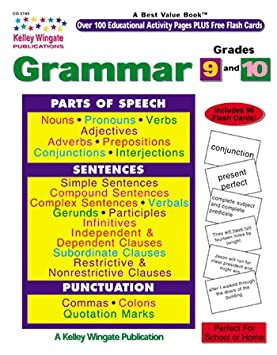 Amazon.com: CD-3745 - GRAMMAR GR 9-10 KELLY WINGATE: Toys & Games