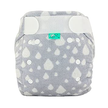 TotsBots Nappy Booster Bamboo Insert Layers Extra Absorbency Washable Cloth