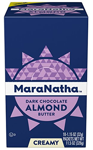 Maranatha No Stir Dark Chocolate Almond Butter Packets, 1.15 Ounce (10 Count) by Maranatha Nut Butters