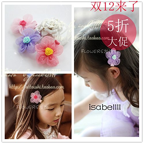 Baby Bubbles Yarn - Quantity 1x 530_ children Crown Tiara Party Wedding Headband Women Bridal Princess Birthday Girl Gift decorated with Headdress Ornaments Korean Fashion baby's _credit_card_bubble_ yarn flower Hair cli