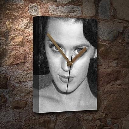 SEASONS Katy Perry - Reloj de Lona (tamaño A3, firmada por el ...