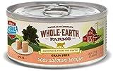 Whole Earth Farms Grain Free Receipe, 5 oz, Salmon, 24 Count