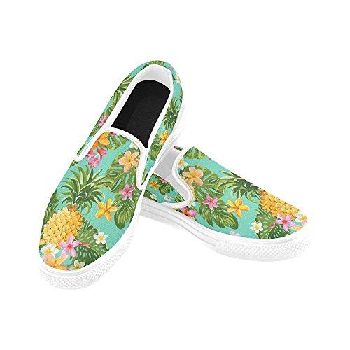 D-story Custom Divertente Cane Womens Scarpe Di Tela Moda Scarpe Sneaker Multi9