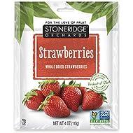 Stoneridge Orchards Whole Dried Strawberries 4 oz