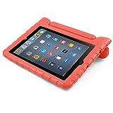 iPad Mini Case, BUDDIBOX   Shock Resistant  Carrying Case for Apple Mini iPad 2/3/4 and Retina, (Red)