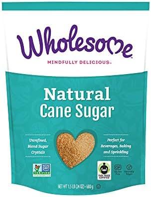 Sugar & Sweetener: Wholesome Natural Cane Sugar
