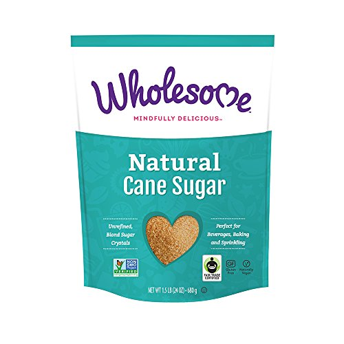 Wholesome Sweeteners Natural Cane Sugar, 24 oz. (Pack of 12)