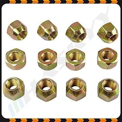 24 ZINK Radmutter Mutter M12x1,5 offen SW21 Kegelbund Kegel 60° Alu Stahl Felgen