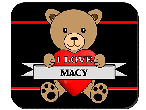 I Love Macy Mouse Pad - Macy's Images