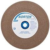 6 inch fine grinder wheel - Norton Bench and Pedestal Abrasive Wheel, Type 01 Straight, Aluminum Oxide, 1