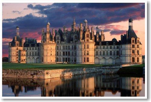 Chateau De Chambord France - NEW World Travel Castle Poster