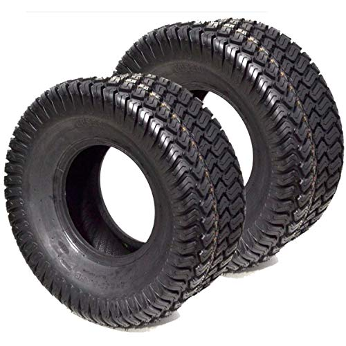 2PK 22x11x10 22x11-10 22x11.00-10 4PLY Turf Tires P332 for Wright, Bobcat, Scag, Kubota Utility Vehicle Golf Carts