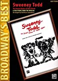 Sweeney Todd (The Demon Barber of Fleet Street) (Broadway's Best): 6 Selections from the Musical (Easy Piano)