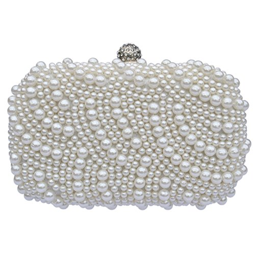 Beaded Pearl Clutch Evening Bag Comes Gift Boxed An Ideal Present - Buy  Online in Oman.  db200d3e99f12