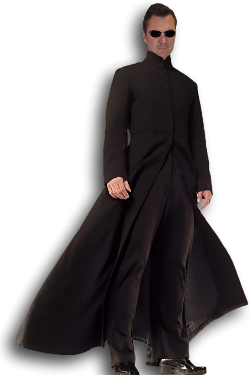 Rubber Johnnies TM Hombre Cybe Disfraz para Hombre The Matrix Película Estilo Fancy Dress