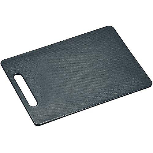 Kesper Snijplank van PE-kunststof in grijs, 34 x 24 x 0,6 cm