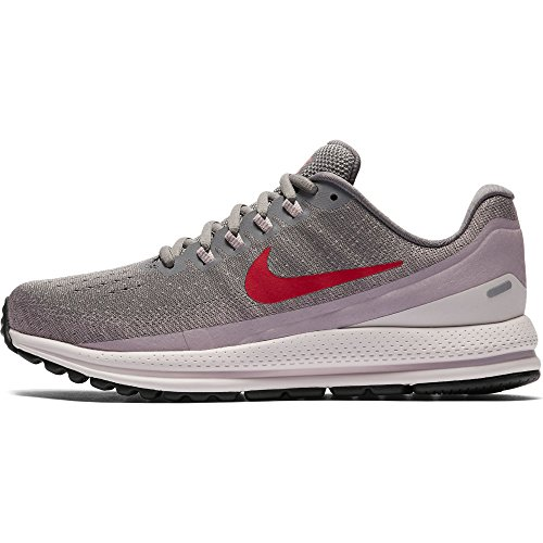 Nike Wmns Air Zoom Vomero 13, Zapatillas de Running Para Mujer Gris (Gunsmoke/habanero Red-elemental Rose 004)