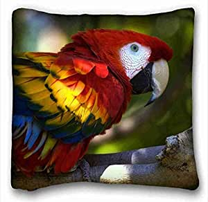 Generic Personalized Animal Custom Cotton & Polyester Soft Rectangle Pillow Case Cover 16x16 inches (One Side) suitable for King-bed