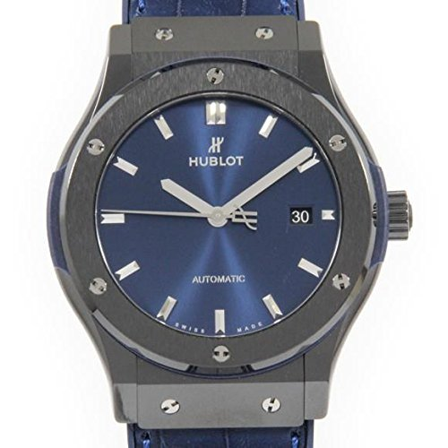 Hublot Classic Fusion Ceramic Blue 42mm Mens Watch 542.CM.7170.LR