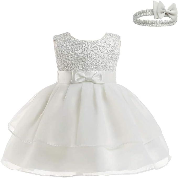 Vestiti Eleganti Neonata.Xfentech Abito Da Principessa Infantile Vestito Da Battesimo
