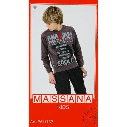 CAL FUSTER Pijama Massana de Invierno Niño Talla 16