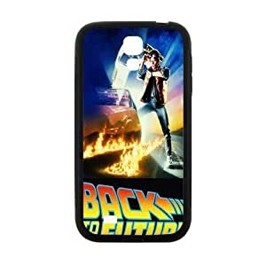Back To The Future Pattern Plastic Case For Samsung Galaxy S4