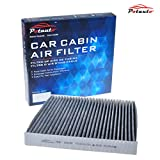 POTAUTO MAP 1003C Heavy Activated Carbon Car Cabin Air Filter Replacement for ACURA, CSX, ILX, RL, RLX, TL, TSX, ZDX, MDX, RDX, HONDA, Accord, Civic, Crosstour, CR-V, Odyssey, Pilot, Ridgeline