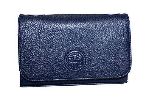 Shrunken Bombe Tory Handbag Bag Shoulder Navy Women's Small Tory Burch PqwFECxnRf