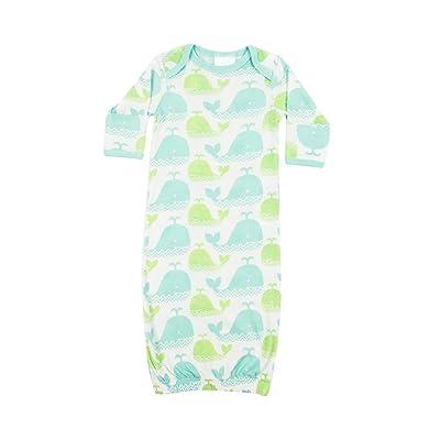 Carley Barley for Girls or Boys Baby Organic Made in USA Sleeping Gown